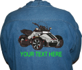 Can-Am Spyder F3 Denim Shirt