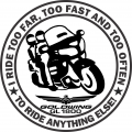 Too Far Too Fast decal picture
