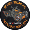 Actual Photo. Colors off just a bit in the picture of the Ryker Round patch