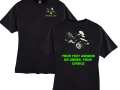 GL1800 Too Far Too Fast with riders Beefy T Shirt