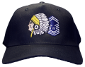 Black USAF Chiefs Hat