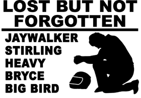 Lost But Not Forgotten Decal picture