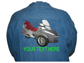 Can-Am Spyder RT Denim Shirt
