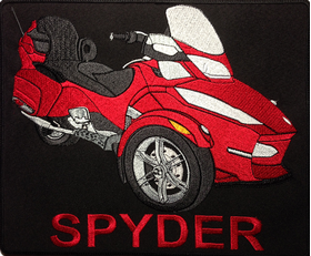 Red Spyder Backpatch